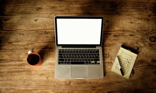 blank macbook screen