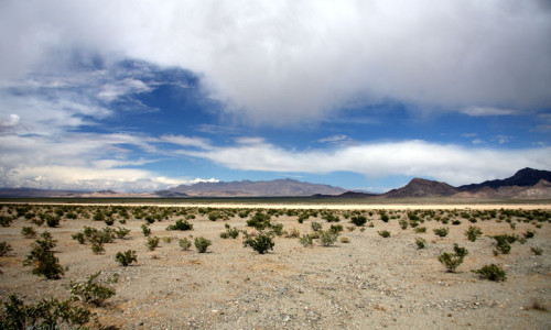desert plains and mountain